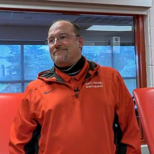 Ed Kelly, Cornell University Head Athletic Hockey Trainer​